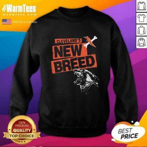 Cleveland Football New Breed SweatShirt - Design By Warmtees.com