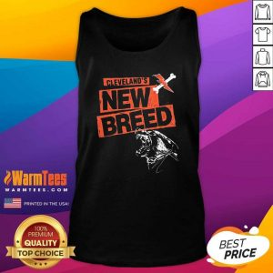 Cleveland Football New Breed Tank Top - Design By Warmtees.com