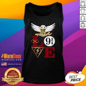 Hogwarts Love 9 34 Tank Top - Design By Warmtees.com