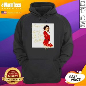 Mariah Carey To Supreme Merry Christmas Baby Hoodie - Design By Warmtees.com