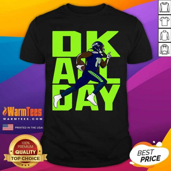 Ok All Day Rugby Ball Shirt - Design By Warmtees.com