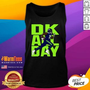 Ok All Day Rugby Ball Tank Top - Design By Warmtees.com