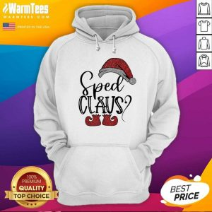 Sped Claus Christmas Hoodie - Design By Warmtees.com
