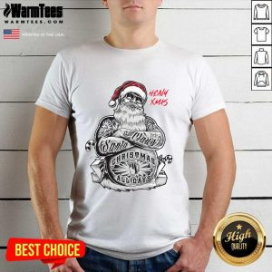 Tattoo Heavy Xmas Santa Claus Christmas All Days Shirt - Design By Warmtees.com