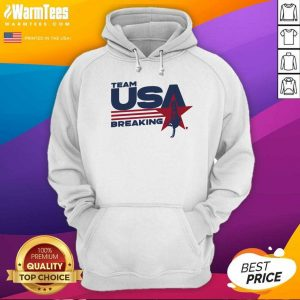 Team USA Breaking Star Hoodie - Design By Warmtees.com