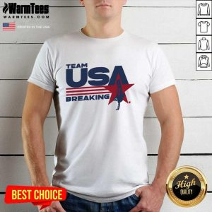 Team USA Breaking Star Shirt - Design By Warmtees.com
