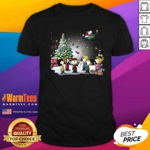 The Peanuts Character Merry Christmas Shirt - Design By Warmtees.com