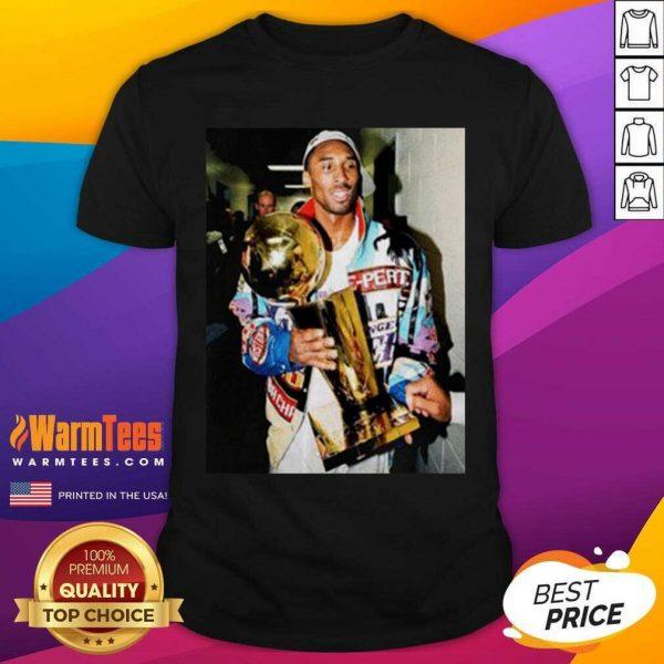Vintage Kobe Bryant After Winning Title Shirt - Design By Warmtees.com