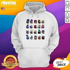 Among Us X League Of Legends Games Hoodie - Design By Warmtees.com