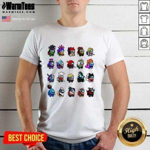 Among Us X League Of Legends Games Shirt - Design By Warmtees.com