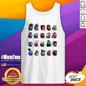 Among Us X League Of Legends Games Tank Top - Design By Warmtees.com