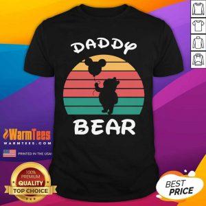 Daddy Bear Disney Vintage Retro Shirt - Design By Warmtees.com
