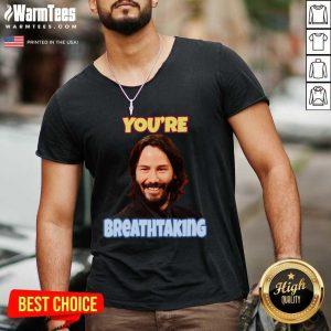 John Wick You're Breathtaking V-neck - Design By Warmtees.com