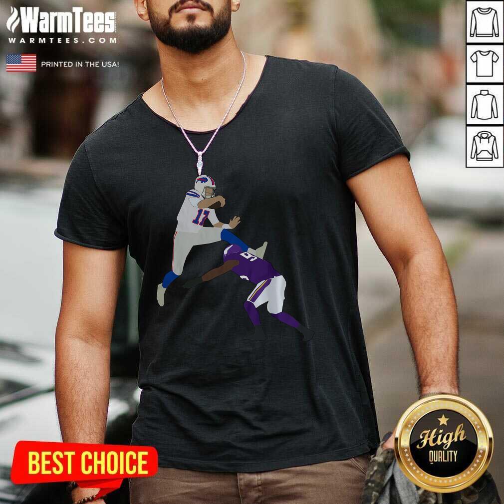 Josh Allen 2020 V-neck  - Design By Warmtees.com