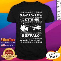 Let Go Buffalo Bills Ugly Christmas Shirt - Design By Warmtees.com