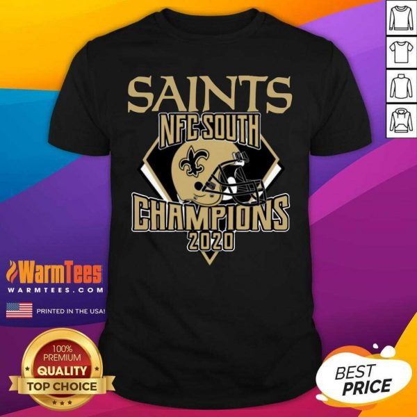 New Orleans Saints Nfc South Champions 2020 Shirt - Design By Warmtees.com