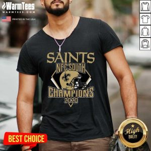 New Orleans Saints Nfc South Champions 2020 V-neck - Design By Warmtees.com