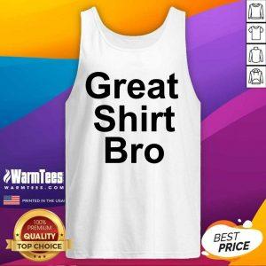 Pat Mcafee Great Bro Tank Top - Design By Warmtees.com
