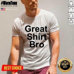 Pat Mcafee Great Bro V-neck - Design By Warmtees.com