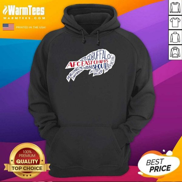 AFC East Champs Buffalo Bills Hoodie - Design By Warmtees.com