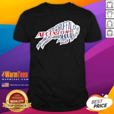 AFC East Champs Buffalo Bills Shirt - Design By Warmtees.com