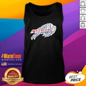 AFC East Champs Buffalo Bills Tank Top - Design By Warmtees.com