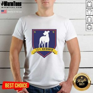 Afc Richmond 1897 Shirt - Design By Warmtees.com