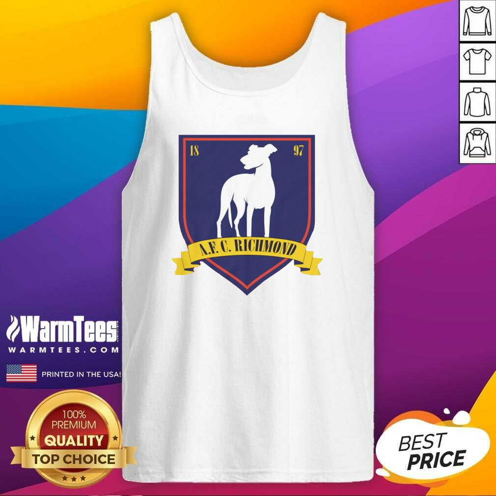 Afc Richmond 1897 Tank Top  - Design By Warmtees.com