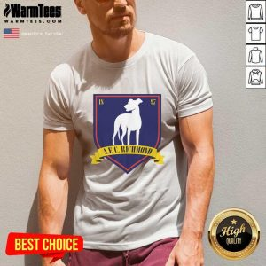 Afc Richmond 1897 V-neck - Design By Warmtees.com