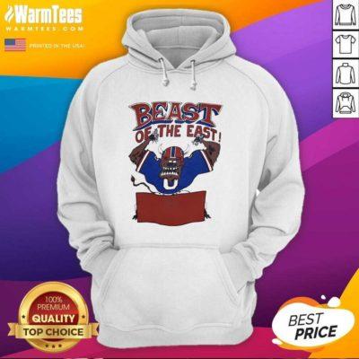 Buffalo Bills Beast Of The East Hoodie - Design By Warmtees.com