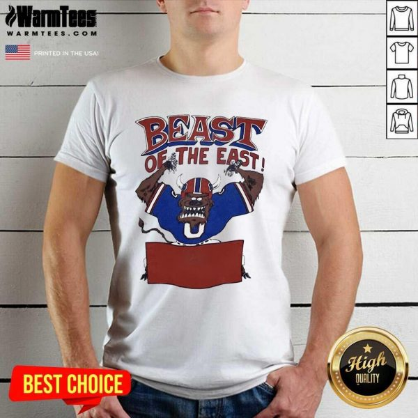 Buffalo Bills Beast Of The East Shirt - Design By Warmtees.com