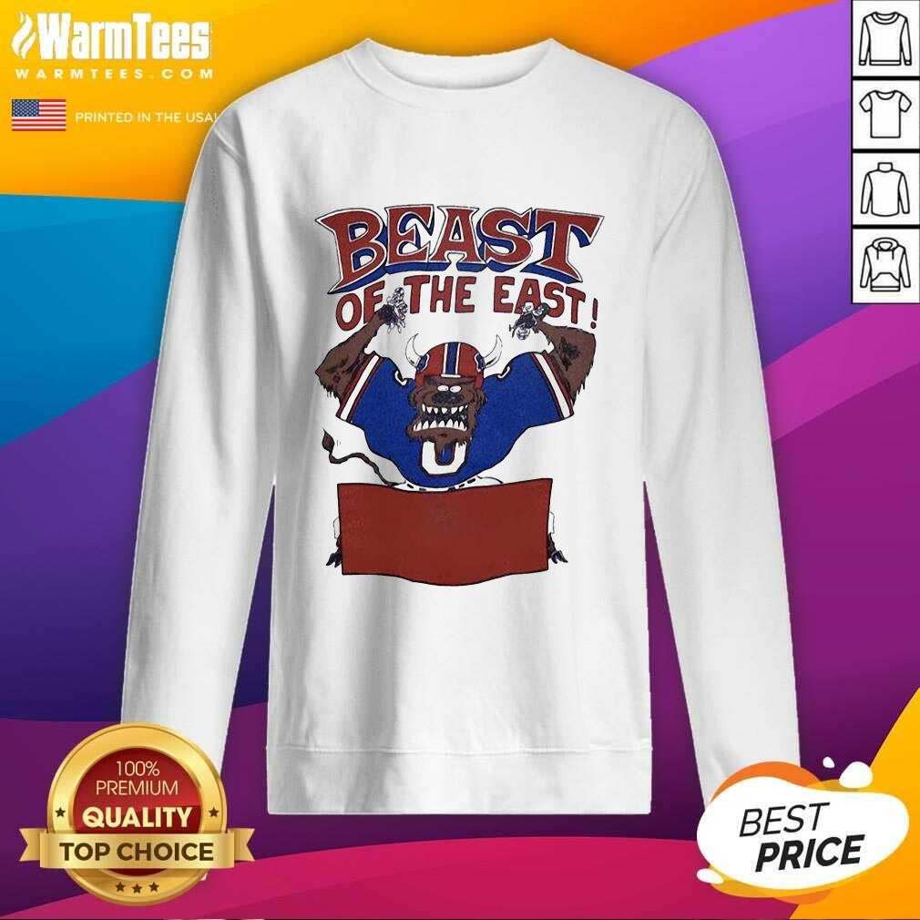 Buffalo Bills Beast Of The East SweatShirt  - Design By Warmtees.com