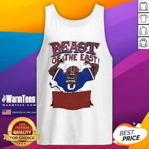 Buffalo Bills Beast Of The East Tank Top - Design By Warmtees.com