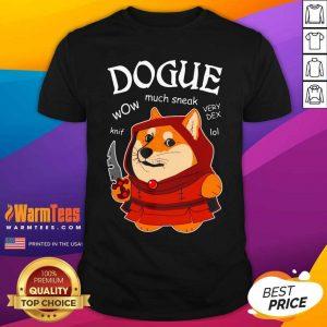 Dogue Wow Much Sneak Very Dex Knif Lol Corgi Shirt - Design By Warmtees.com