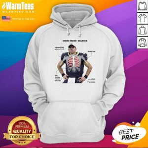 Drew Brees Protective Hoodie - Design By Warmtees.com