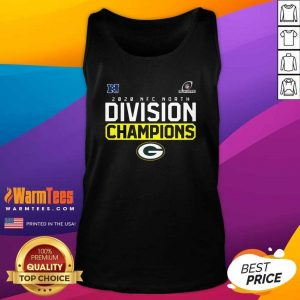 Green Packer 2020 Nfc North Champions Playoff Tank Top - Design By Warmtees.com