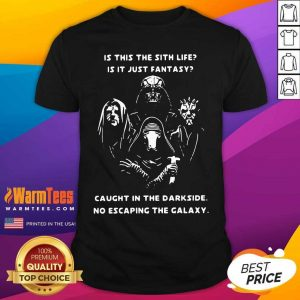 Is This The Real Life Is This Just Fantasy Caught In A Landslide No Escape From Reality Shirt - Design By Warmtees.com