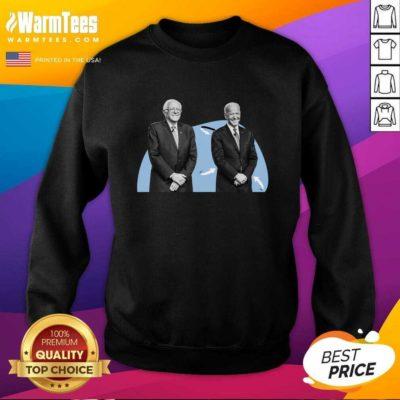 Joe Biden And Bernie Sanders SweatShirt - Design By Warmtees.com