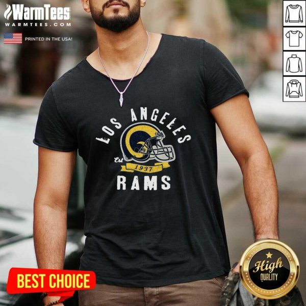 Los Angeles Rams Est 1937 V-neck - Design By Warmtees.com