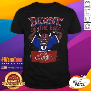 Beast Of The East 2020 Afc East Champs Shirt - Design By Warmtees.com