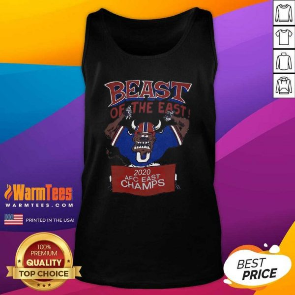 Beast Of The East 2020 Afc East Champs Tank Top - Design By Warmtees.com