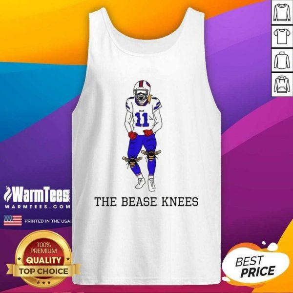 Buffalo Bills Cole Beasley The Bease Knees Tank Top - Design By Warmtees.com