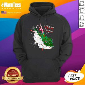 Good Ballet Merry Christmas Hoodie - Design By Warmtees.com