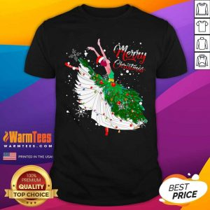 Good Ballet Merry Christmas Shirt - Design By Warmtees.com