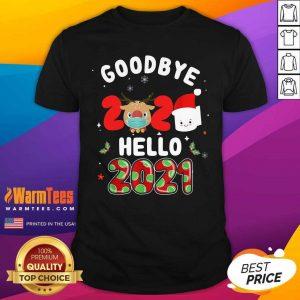 Goodbye 2020 Toilet Paper Santa Hello 2021 Shirt - Design By Warmtees.com