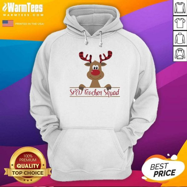 Reindeer Sped Teacher Squad Christmas Hoodie - Design By Warmtees.com