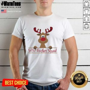 Reindeer Sped Teacher Squad Christmas Shirt - Design By Warmtees.com
