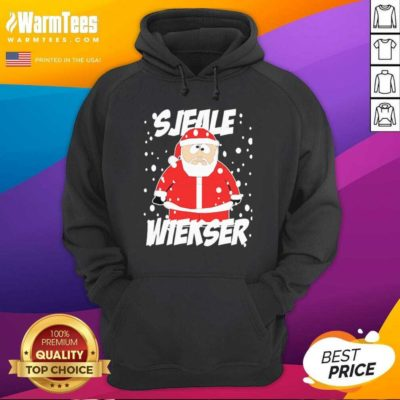 Santa Claus SJeale Wieser Christmas Hoodie - Design By Warmtees.com