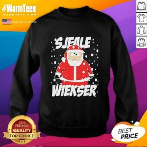 Santa Claus SJeale Wieser Christmas SweatShirt - Design By Warmtees.com