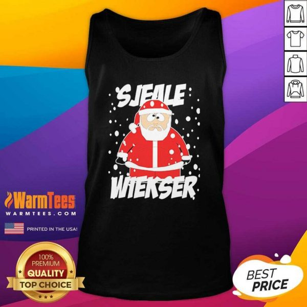 Santa Claus SJeale Wieser Christmas Tank Top - Design By Warmtees.com